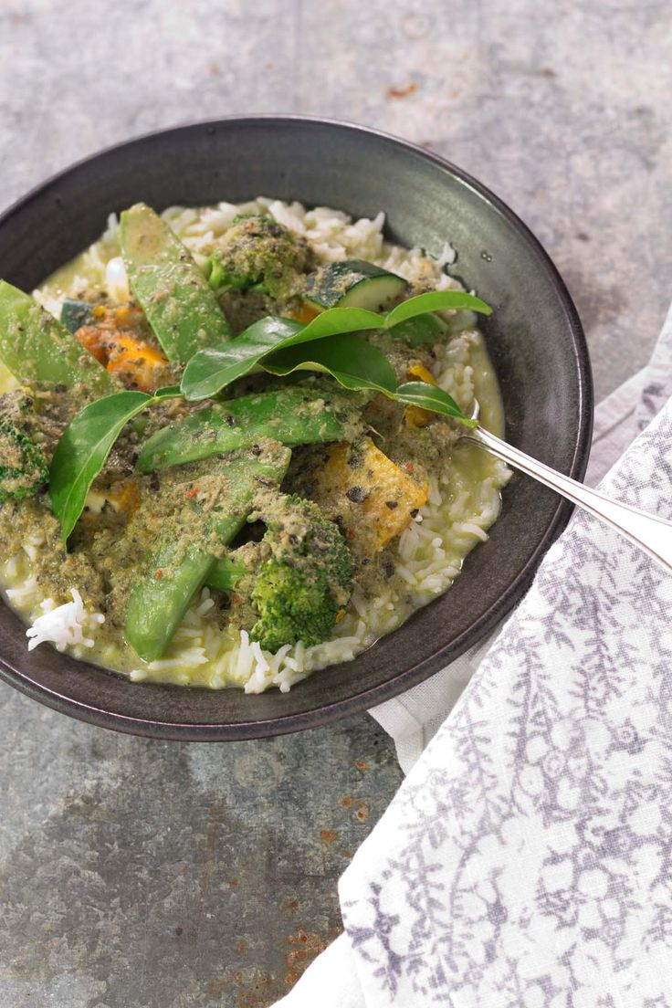 Thermie Green Vegetarian Curry – Arwen's Thermo Pics