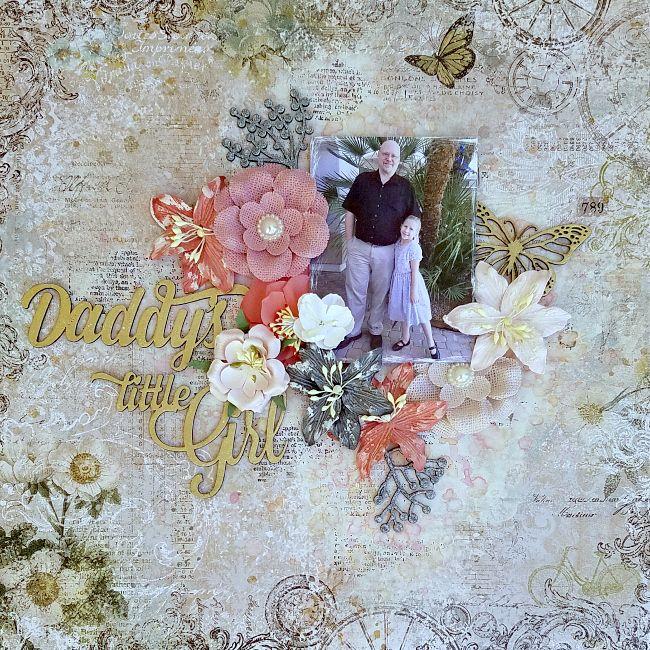 A Stash of Pretty Paper: Blue Fern Studios - Daddy's Little Girl