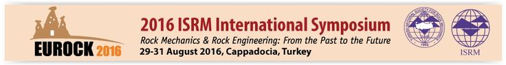 "#geocongress 2016 ISRM International Symposium - EUROCK 2016. Nevsehir, Turkey. 29 Aug 2016 → 31 Aug 2016 On behalf of the International Society for Rock Mechanics (ISRM), Turkish National Society for Rock Mechanics cordially invites the international community to attend the 2016 ISRM International Symposium ""EUROCK 2016″. The symposium will be held between 29 and 31 August 2016 in Cappadocia (Turkey) which is one of the seven sites included in the World Heritage List by UNESCO..."