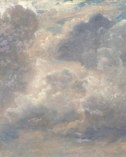 Seascape Study With Rain Cloud by John Constable - Oil ...