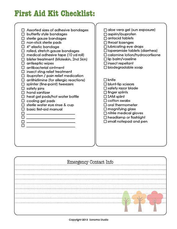 boy scouts camping checklist