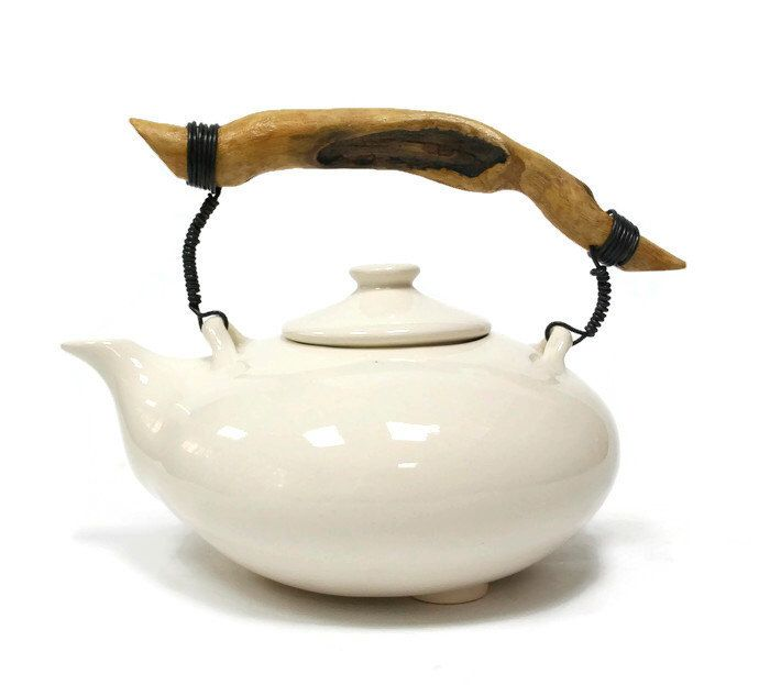 Pottery Teapot, Unique Teapot, Pottery Tea Kattle, Teapot Set, Chinese Teapot, Stoneware Teapot , Cast Iron Teapot, Coffee Pot, Pottery, Tea by MMceramicdesign on Etsy https://www.etsy.com/ca/listing/211337421/pottery-teapot-unique-teapot-pottery-tea