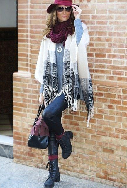 Kış Bayan Sokak Stilleri: 2015 Ocak - Kışın ve soğuk günlerin moda trendlerini takip ettirmenizi durdurması gerekmiyor. Hatırlanmaya değer şık kış sokak kombin stillerine göz atabilirsiniz.