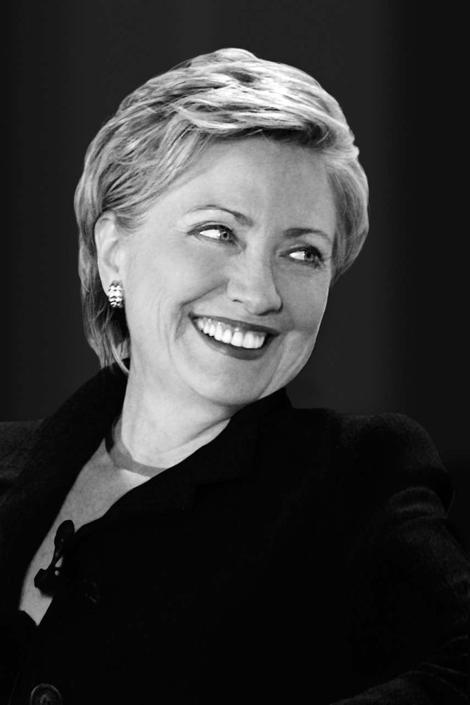 Hillary Clinton .......A woman of great intellect and incredible work ethic,Stands by her convictions and I stand by her