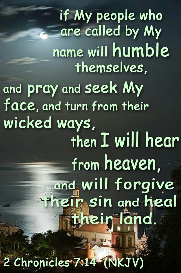 2 Chronicles 7 14 Nkjv If My People Who Are Called By
