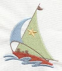 Machine Embroidery Designs at Embroidery Library! - Nautical