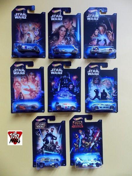 ToyzMag.com » Dispo en Fance : tout Hot Wheels Star Wars