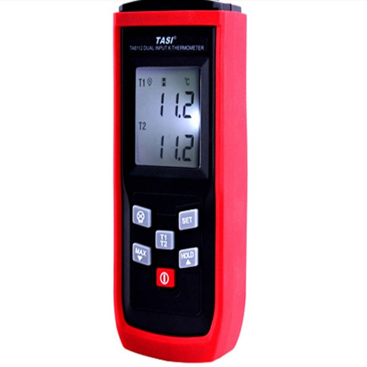 19.00$  Buy now - http://alimj5.shopchina.info/go.php?t=32649934263 - TA8112 Digital thermometer -50~1350C dual channel mode,K-type dual channel temperature measurement with beeper alarm function 19.00$ #magazineonline