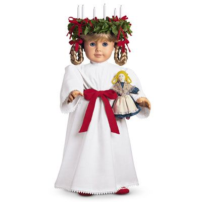 American Girl historical character Kirsten was from Sweden where one of the biggest celebrations of the Christmas season is December 13th – St. Lucia Day.
