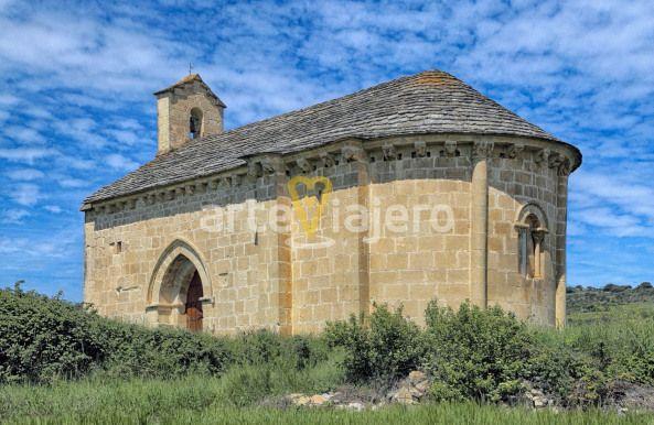 Ermita De Santa Catalina De Alejandría Valle De Yerri Navarra Ermita Romanico Romanesque Navarra Valledeyerri Romanico Romanesque Santa Catalina Spain