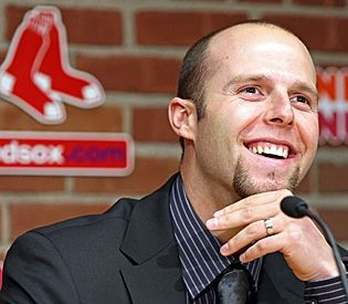 THERE I PINNED IT! I would F*$K Boston Red Sox player Dustin Pedroia aka Hot Skeletor in a HEARTBEAT! YUM...YUM....Triple YUMS!