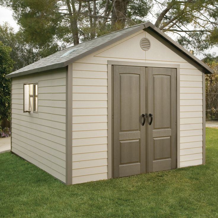 Found it at Wayfair - 10 Ft. W x 13 Ft. D Plastic Storage Shed