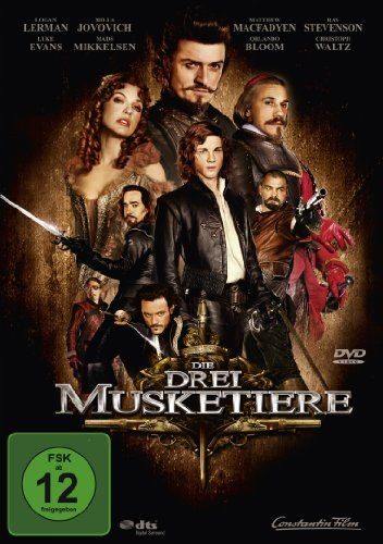 Die drei Musketiere  2011 USA,Germany,France,UK      IMDB Rating      5,8 (41.926)    Darsteller:      Matthew Macfadyen,      Milla Jovovich,      Luke Evans