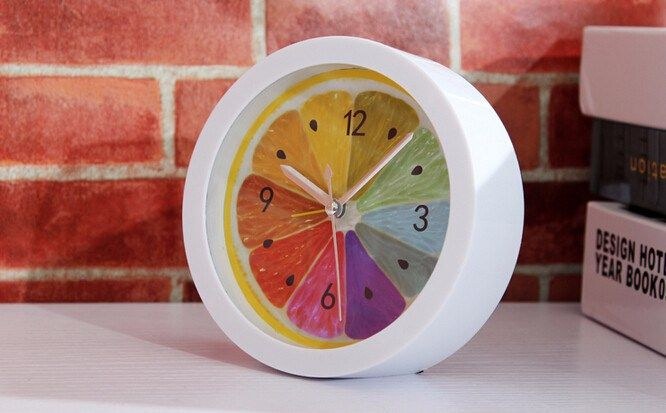 Fruit Table Clock   Free Worldwide Shipping!  Only $39.80    Order from: www.happycozyhome.com