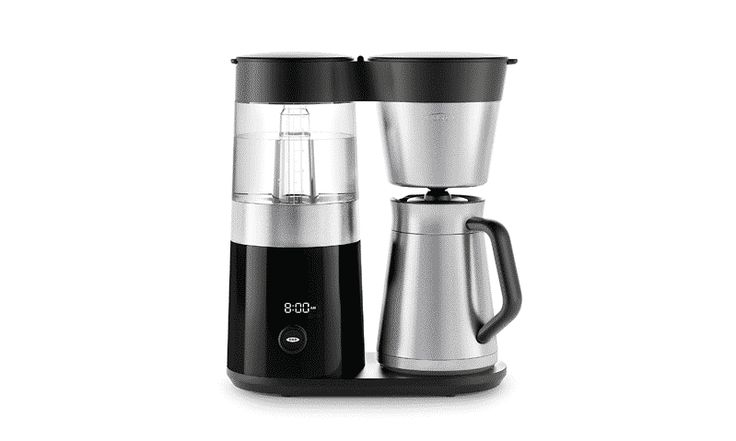 OXO Barista is a coffee maker that makes coffee of up to 9 cups. #coffee #coffeetime #coffeetable #coffeeshop #coffeeaddict