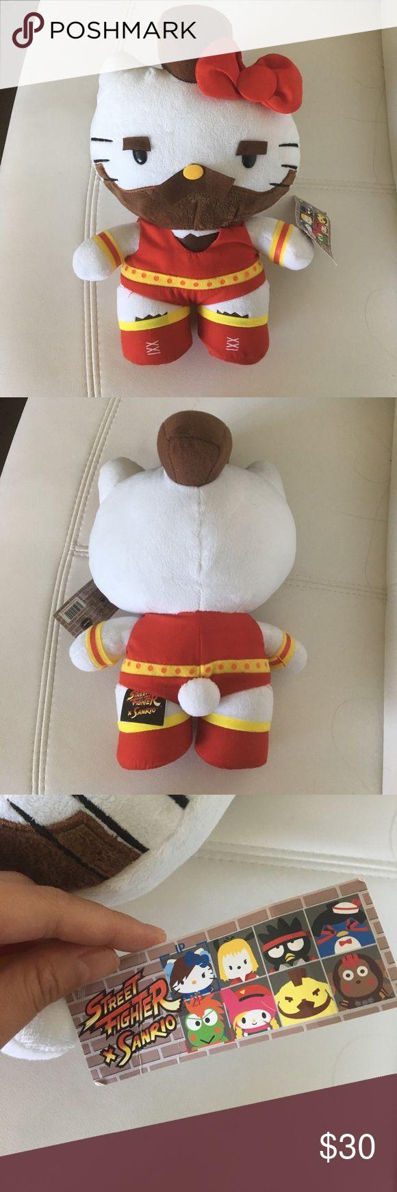 NWT Hello Kitty Street Fighter Plush Brand new stuffed animal. Street fighter Hello Kitty. 11 inches. Hello Kitty Other