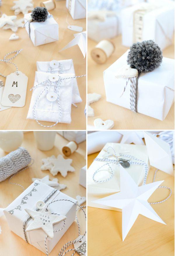 Scandi Home: Grey & White Christmas