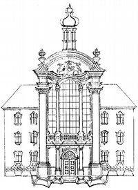 kostel ve straubing / bratři asamové