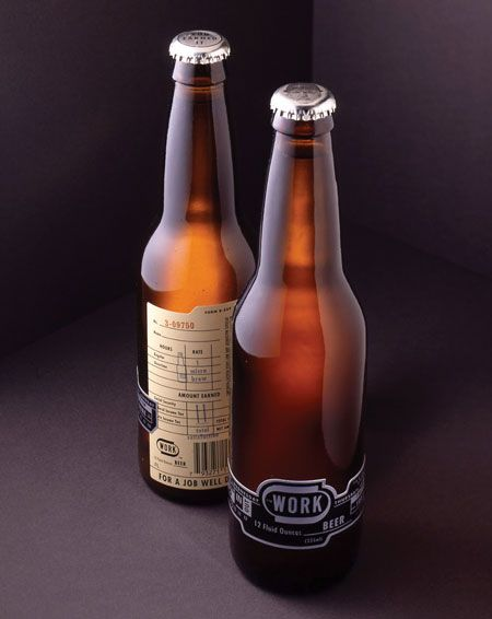 Beers after a long day of work have existed since the beginning of time. Virginia-based advertising/design/branding agency WORK Labs decided to cut out the middle man and launch their own beer bran...