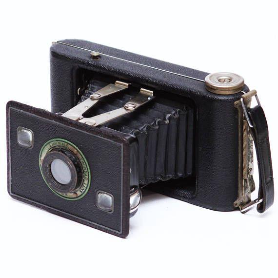 Vintage Kodak Jiffy Six 20 Series II 620 Film Folding Camera