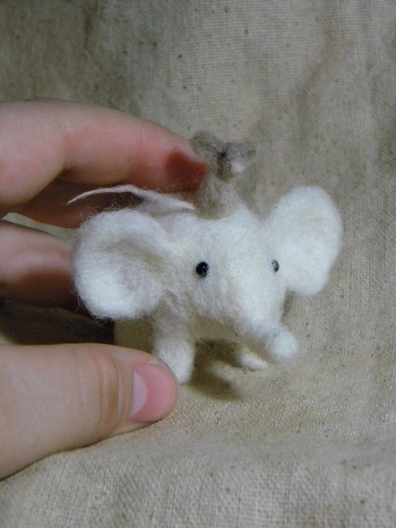 I want to make these cute needle felted animals