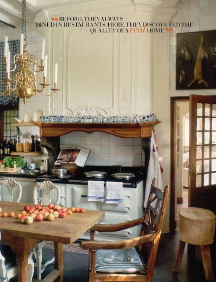 Love everything...Including the AGA!