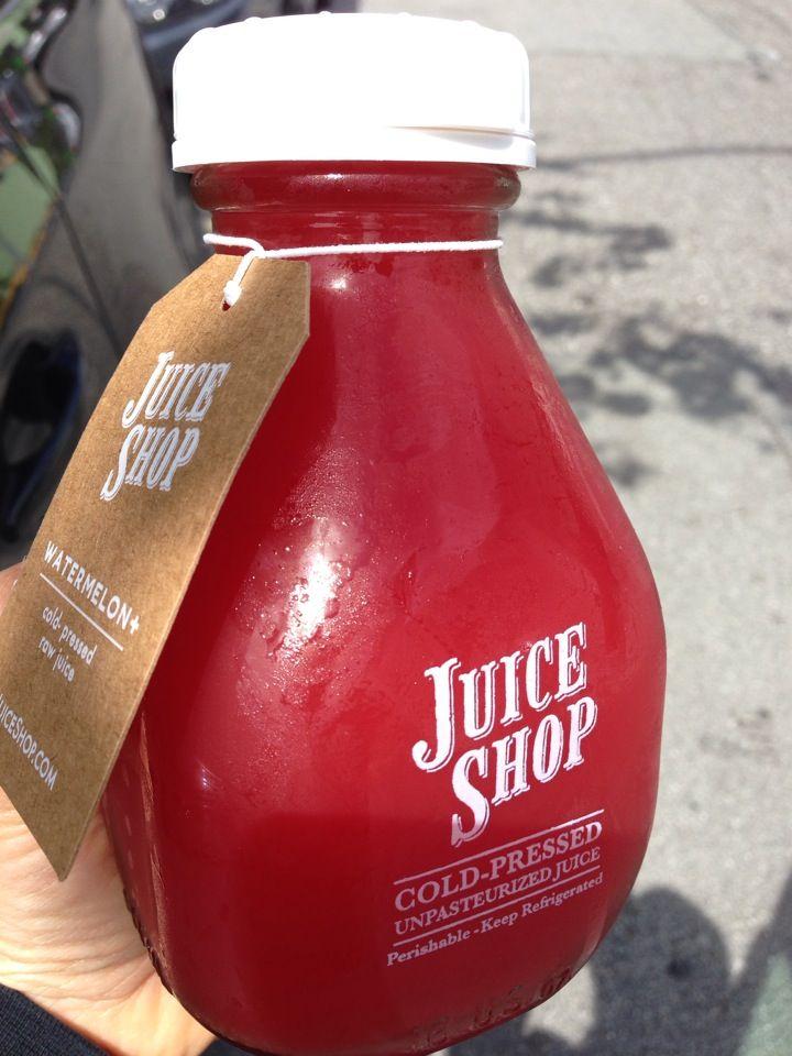 Juice Shop cold-pressed juice in San Francisco, CA