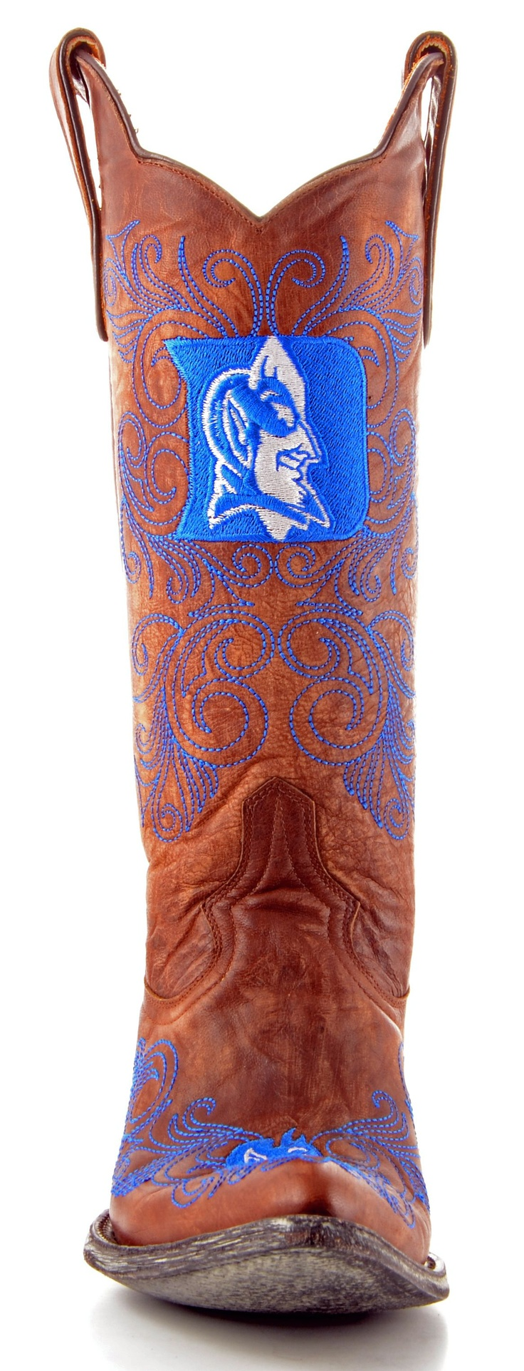 Womens Duke University Gameday boots: Duke Blue Devil Cowgirl. Most awesome cowgirl boots ever!