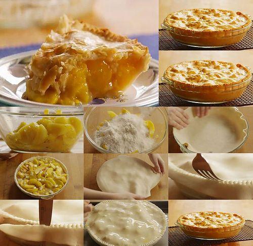 1.Сразу хочется заметить,что начинка для пирога может быть из любых свежих фруктов,в зависимости от сезона. 2.Свежие фрукты очистить и порезать на дольки при…