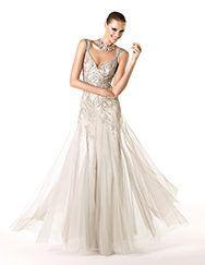 Pronovias apresenta o vestido de festa Rosse da coleção 2014. | Pronovias