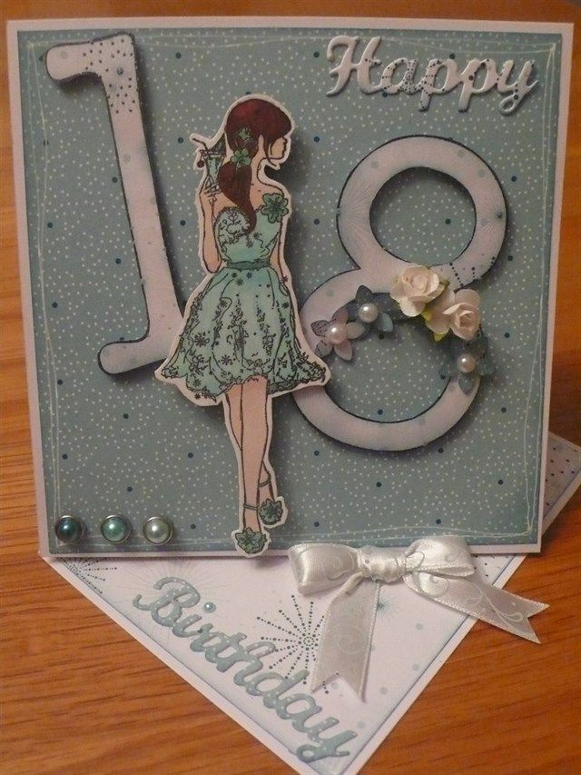 18th birthday card (second of a pair for twins) | docrafts.com