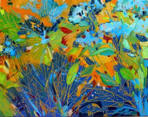 "Daily Paintworks - ""Summer Bright"" - Original Fine Art for Sale - © Anita Badami"