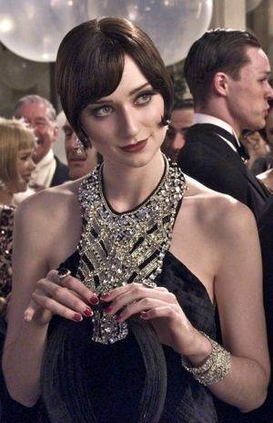 Elizabeth Debicki plays the role of Jordan Baker in The Great Gatsby