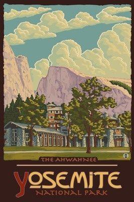 The Ahwahnee, Yosemite National Park, California