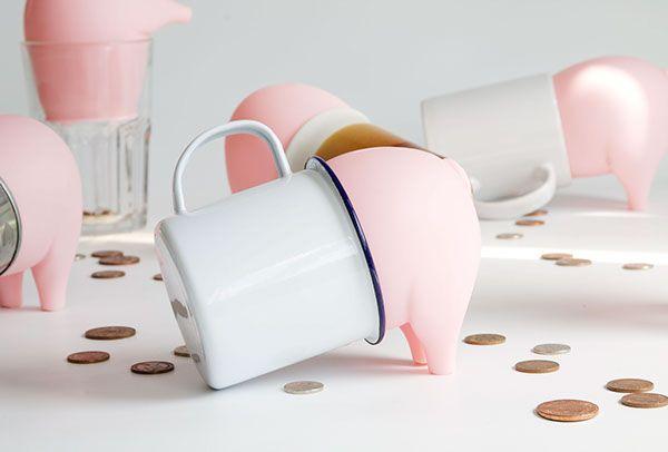 Greedy Piggy Bank on Industrial Design Served
