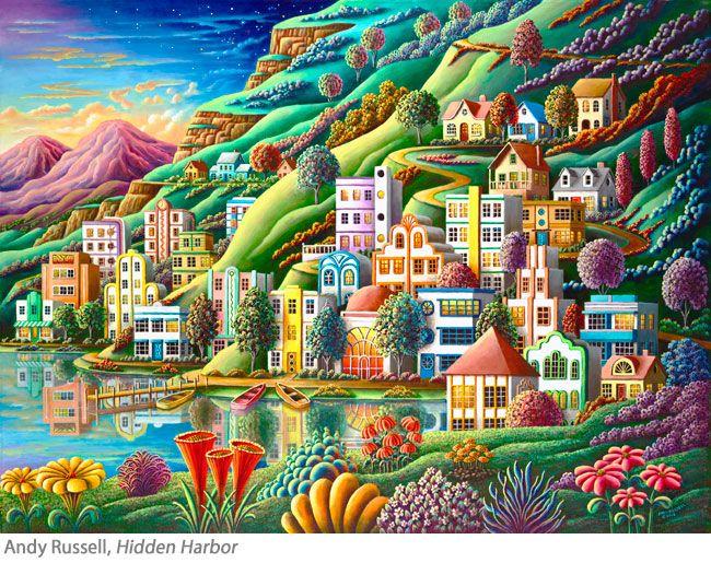 Professional Artist Andy Russell - Artist Spotlight - Jerrysartarama.com