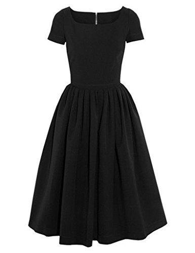 GownTown Womens dresses 50s Vintage Dresses Short Sleeve ... https://smile.amazon.com/dp/B019DHQWCA/ref=cm_sw_r_pi_dp_nbRMxbPFMJXWZ
