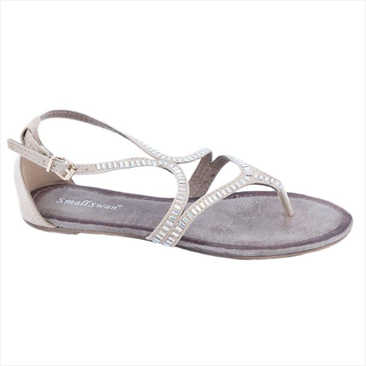 Sandale de dama bej BM170B - Reducere 50% - Pret 29.99 lei - Zibra