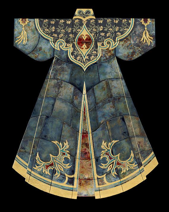 Agememnon's Royal Robe by MarciasOrientalRobes on Etsy, $225.00