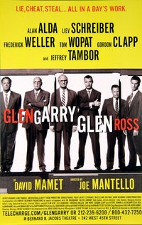 Al Pacino to Star in Revival of Glengarry Glen Ross