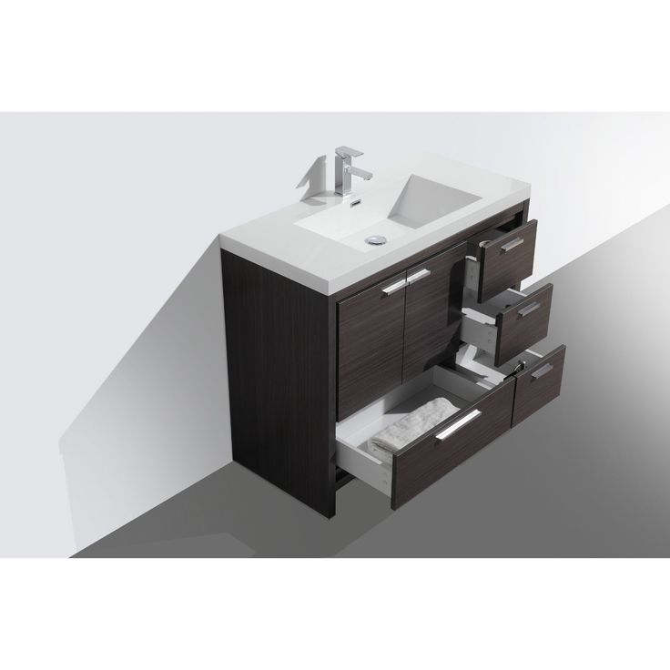 LOVE Moreno MOD 42-inch Bathroom Vanity With Drawers | Overstock  Shopping -