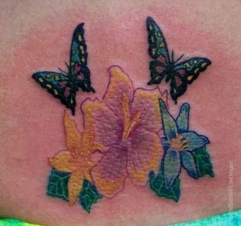 butterfly tattoos: Tattoo Ideas, Flowers Tattoo, Girls Names, Dreams Tattoo, Tattoo Malu Art Com, Butterflies Tattoo Design, Flower Tattoos, Tattoo Ink, Butterfly Tattoos