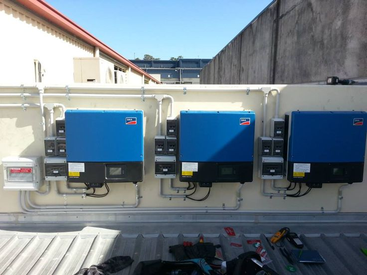 30kW SMA Tripower system installed onto a sheet metal factory in Murarrie
