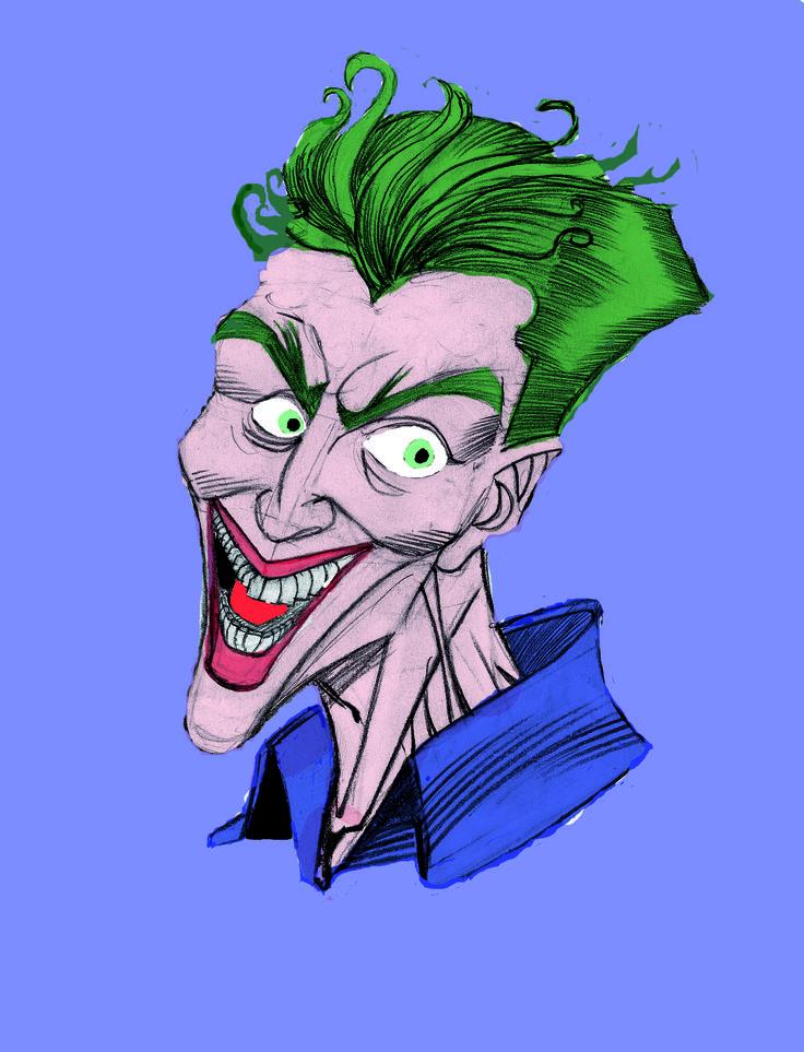 Un dibujo propio del joker