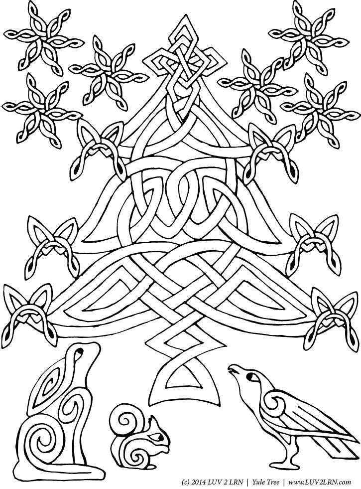 yule coloring pages winter solstice coloring pages coloring page