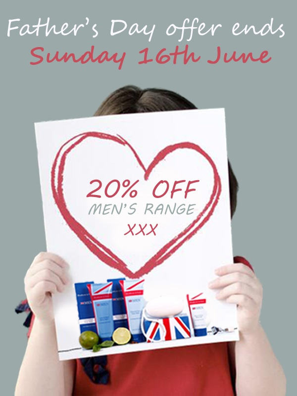 Father's Day Offer ends Sunday 16th June. Receive 20% off on all Men's items. Visit www.heathcote-ivory.com to view the range. #Father's #Day #Offer #Sale #HeathcoteIvory
