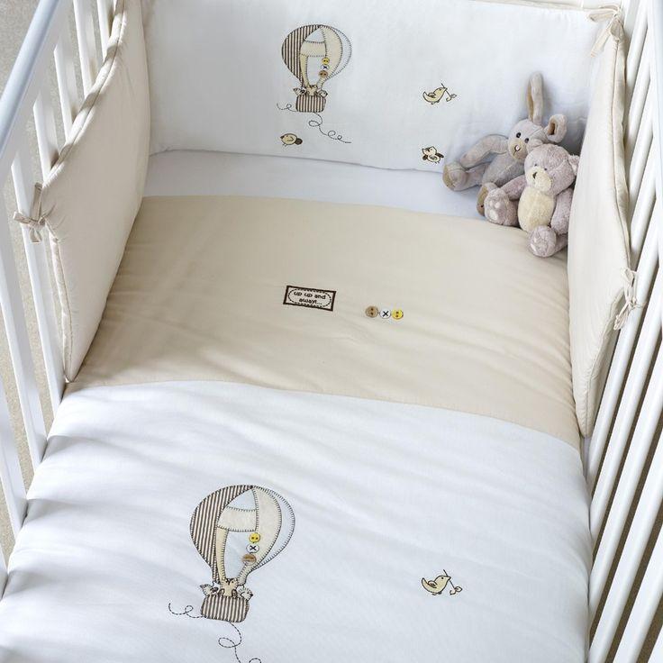 Saplings Balloon Cot Bed Bumper Set