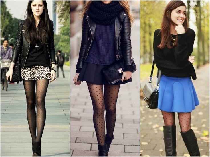 Para ousar um pouco mais no inverno: use meia-calça! - Moda it
