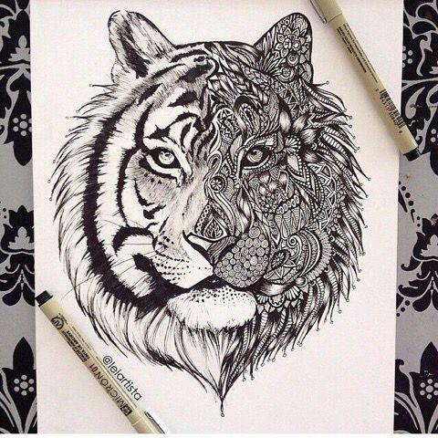 Toger tattoo idea
