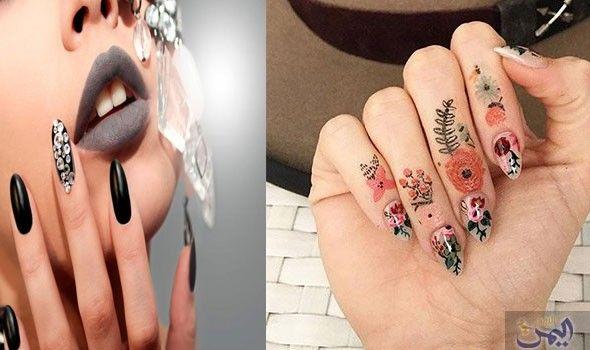 تعرف على أفضل وأجمل صيحات طلاء الأظافر في 2018 Print Tattoos Paw Print Tattoo Paw Print